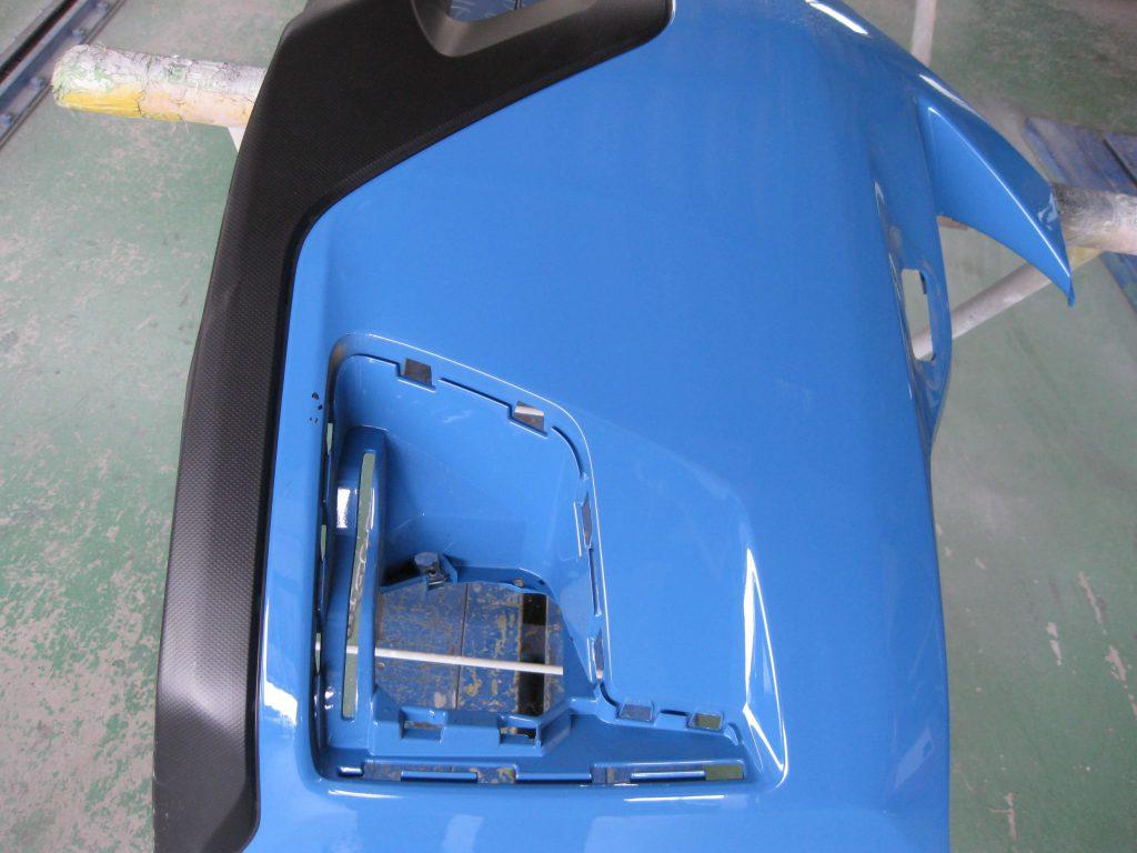 スバル・XV、フロントバンパー付属品取り外し分解