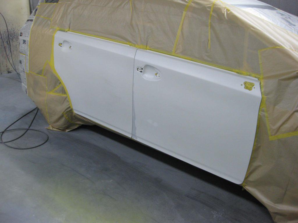 トヨタ・ウィッシュ、ドアパネル、塗装前
