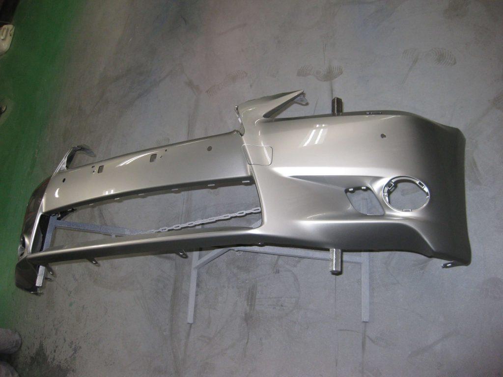 レクサスGS350、バンパー塗装後